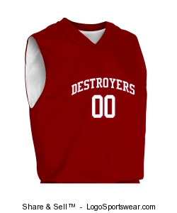 Adult Fadeaway Reversible Basketball Jersey Uniform Set Design Zoom