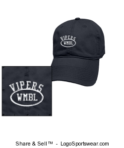 Washed Twill Cotton Cap by The Game  Design Zoom